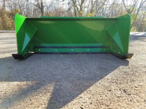5/' Low Pro John Deere snow pusher box FREE SHIPPING-RTR tractor loader snow plow