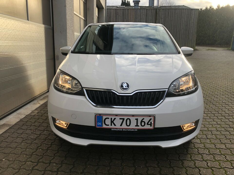 Skoda Citigo 1,0 MPi 60 Style Sport Benzin modelår 2019 km