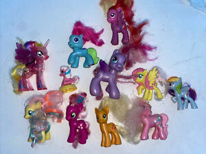 Lot Of 11 Of My Little Pony Figures Very cute and in VGC Rare!