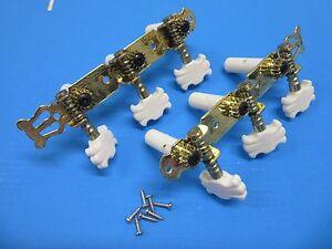 KG356 GDCR 3L+3R Mechaniken für Klassikgitarre Lyra Goldfarben mit Schrauben - Deutschland - KG356 GDCR 3L+3R Mechaniken für Klassikgitarre Lyra Goldfarben mit Schrauben - Deutschland