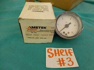 Ametek-P844U-15-PSI-Control-Pressure-Gauge-F19B-2457-FK-2-034-NEW