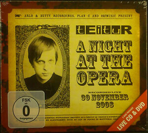 CD-DVD-teitur-A-Night-At-The-Opera-NUEVO-EMBALAJE-ORIGINAL