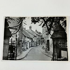 Church-Street-Stow-on-the-Wold-Gloucestershire-England-RPPC-Vintage-Postcard