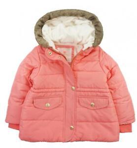 3c26a3f402e4 Carter s Girls Rose Parka Outerwear Jacket Size 2T 3T 4T 4 5 6 6X