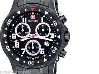 Wenger Off Road Chrono Swiss Watch Black Dial Bracelet
