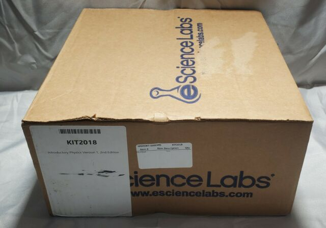 eScience Labs Kit Introductory Physics Version 1, 2nd Edition (KIT2018)