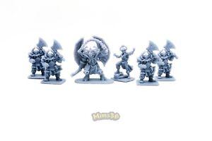 Minis3D-Rep-Heroquest-Remake-F-Schizzo-Chaos-Warlock-Warriors-Gargoyle