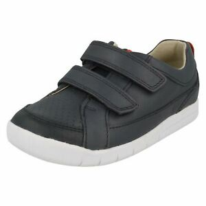 'boys Clarks' Casual Hook & Loop Fastening Shoes - Emery Walk T Noch Nicht VulgäR
