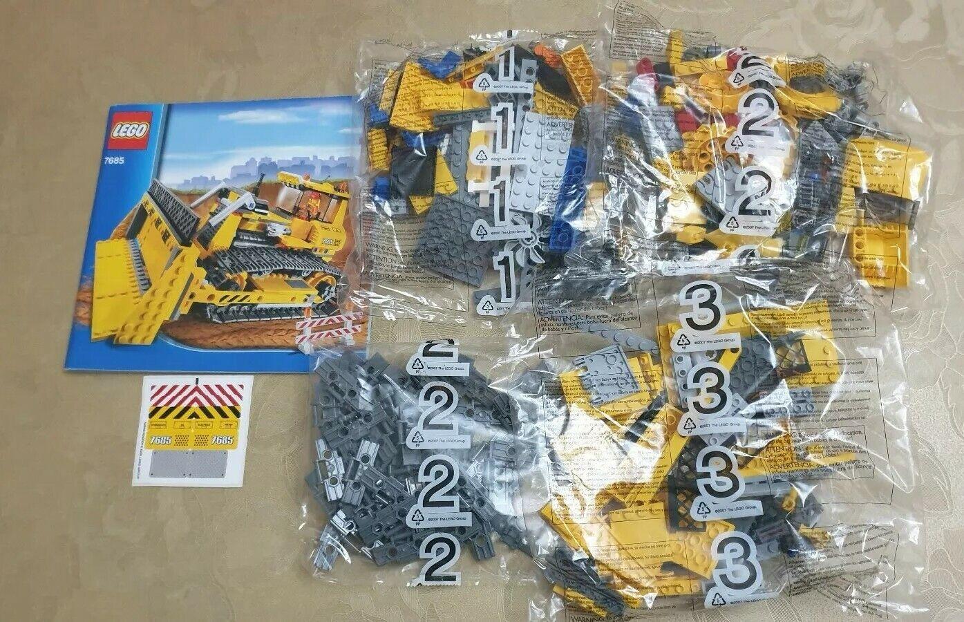 Lego City 7685 Dozer-sin Caja, Nuevo En Bolsa-Envío Gratis