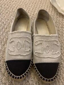 Chanel espadrilles Shoes Canvas Sz.39
