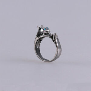fashion dark soul silvercat ring havels ring cosplay jewelry us size