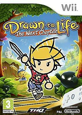Drawn To Life: The Next Chapter (Nintendo Wii), , Used; Very Good Game