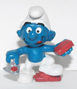 Bricklayer-Smurf-Figure-20148-Smurfs-2-inch-Plastic-Figurine