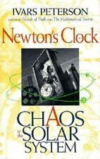 Newton's Clock: Chaos in the Solar System Peterson, Ivars Hardcover