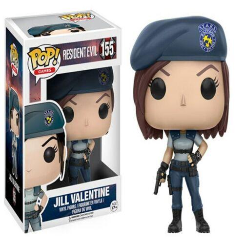 FUNKO POP Resident nemico cattivo Jill Valentine onoratissima KENNEDY Figura Giocattolo UK