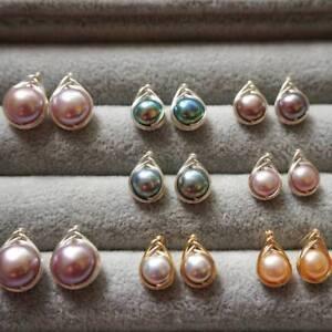 HANDMADE-Genuine-Pearl-Earrings-20116U