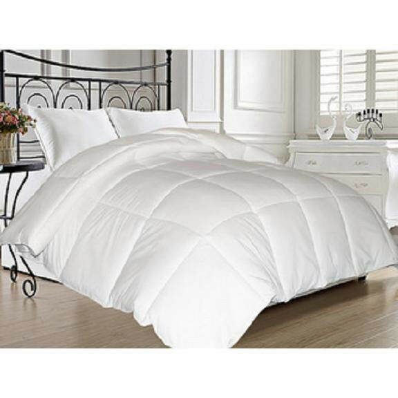ULTRA SOFT DOWN FEATHER ALT LUXURY COZY WARM ALL SEASON COMFORTER BLANKET NEW