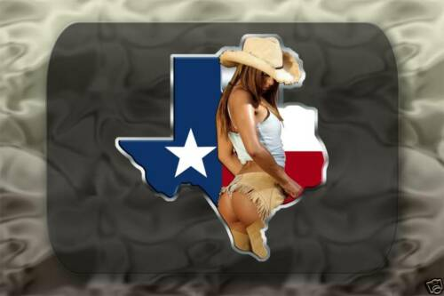 Cowgirl Texas Sticker 4x4 Truck Cowboy Decal