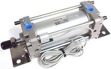 NEW SMC CDA2B63-100 TIE-ROD CYLINDER 63mm BORE, FULL MODEL # CDA2L63-100-Y59BLS