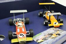 Scalextric C3544A McLaren M7C / Lotus 49 serial numbered 2-Car1/32 Slot Car Set