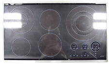Summit FBA CR3240 230V 3-Burner 21 Radiant Cooktop Made in Europe for Built-in Installation Black