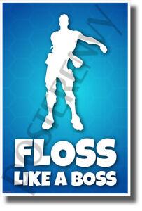 Floss-Like-a-Boss-NEW-Video-Game-Novelty-POSTER