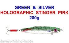 Sea Fishing Pirk Heavy 200g Cod Sea bass conger molva Jaxon KATER vertical boat