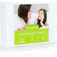 Brookside Waterproof Jersey Fitted Mattress Protector