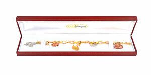 18k-Solid-Gold-Bracelet-W-Charms