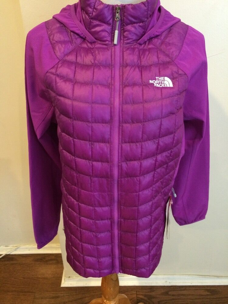 The North Face ThermoBall Hybrid Hoodie Purple - Women's - 2015 NWT