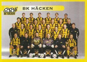 245-TEAM-LAGBILD-BK-HACKEN-SWEDEN-STICKER-PANINI-FOTBOLL-ALLSVENSKAN-1999