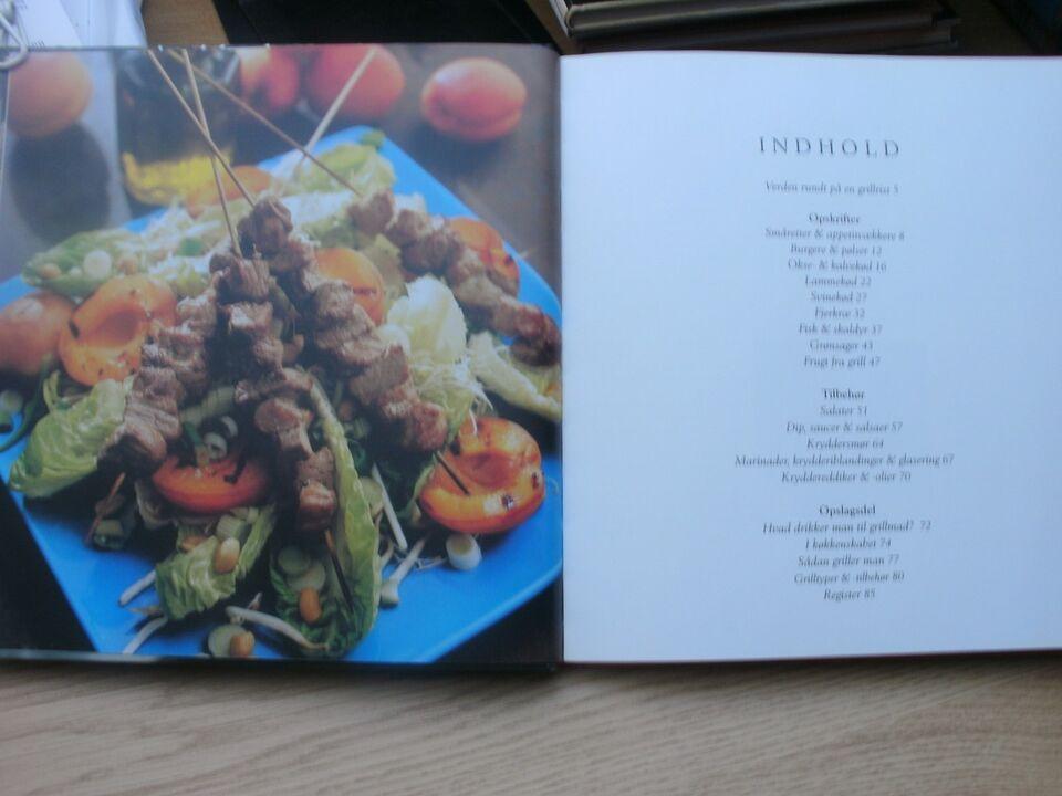 Grill. Sommermad på 100 måder, Vibeke Schrader, emne: mad