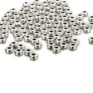 Wholesale-100Pcs-5mm-Silver-Metal-Round-Spacer-Beads-DIY-Jewelry-Making-Craft-F