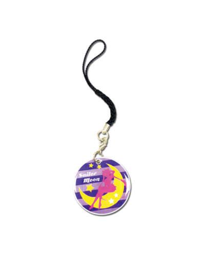 Sailor Moon Silhouette Cell Phone Charm