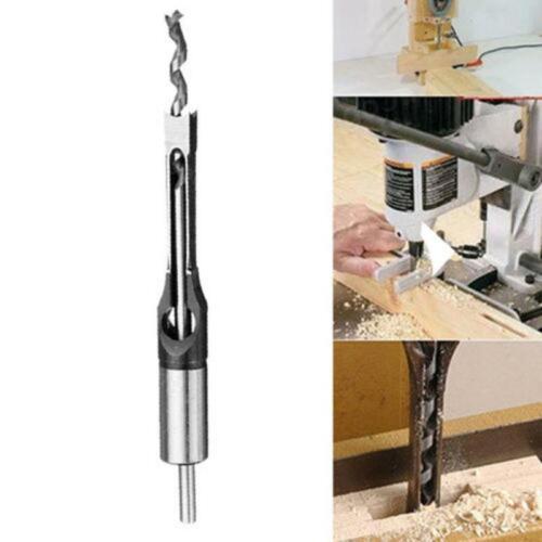 10//16mm trou carré a vu foret à bois buriner Ciseau woodworking tool Bits LJ