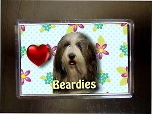 Bearded-Collie-Gift-Dog-Fridge-Magnet-77-x-51-mm-Birthday-Gift-Stocking-Filler