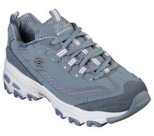 Skechers Dlites shoe Slate Women Sporty Memory Foam Sneaker