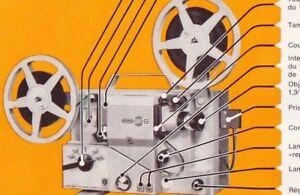 NOTICE sur CD pour projecteur EUMIG MARK S normal 8mm en français