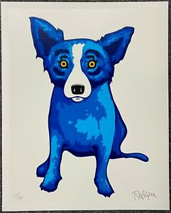George-Rodrigue-BLUE-DOG-Purity-of-Soul-2005-Hand-Signed-039-d-mint-cd-silkscreen