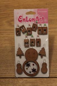 Details Zu Stickerbogen Weihnachten 3d Sticker Holz Schneemann Toll Basteln Scrapbooking