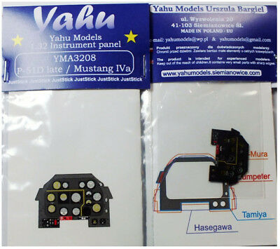 early yma3228// YAHU Models 1:32 - Instrument panel P-51 D Mustang