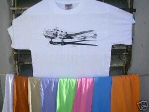 Airplane-T-Shirt-Lockheed-12-Electra-Junior-XXL
