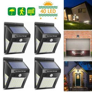 4er-Solarleuchte-40-LED-Solar-Lampe-mit-Bewegungsmelder-Gartenlicht-Wandleuchte