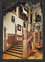 C1980's  View of the Grand Staircase, Hatfield House, Southfront.