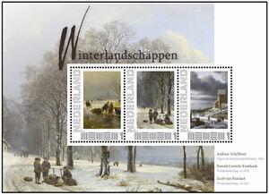 Postset-Winterlandschappen-uit-de-vier-jaargetijden-serie