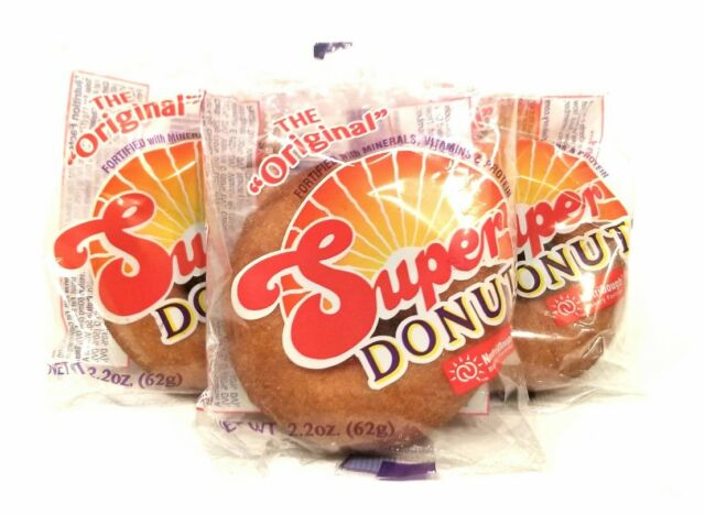 The Original SUPER DONUT 10 Pack Healthy and Nutritional