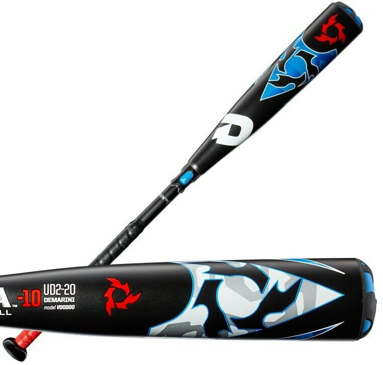 2020 DeMarini Voodoo -10 32  22 oz. Youth USA Baseball Bat WTDXUD2-20
