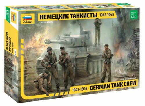 1:35 Zvezda #3614 German Tank Crew 1943-1945