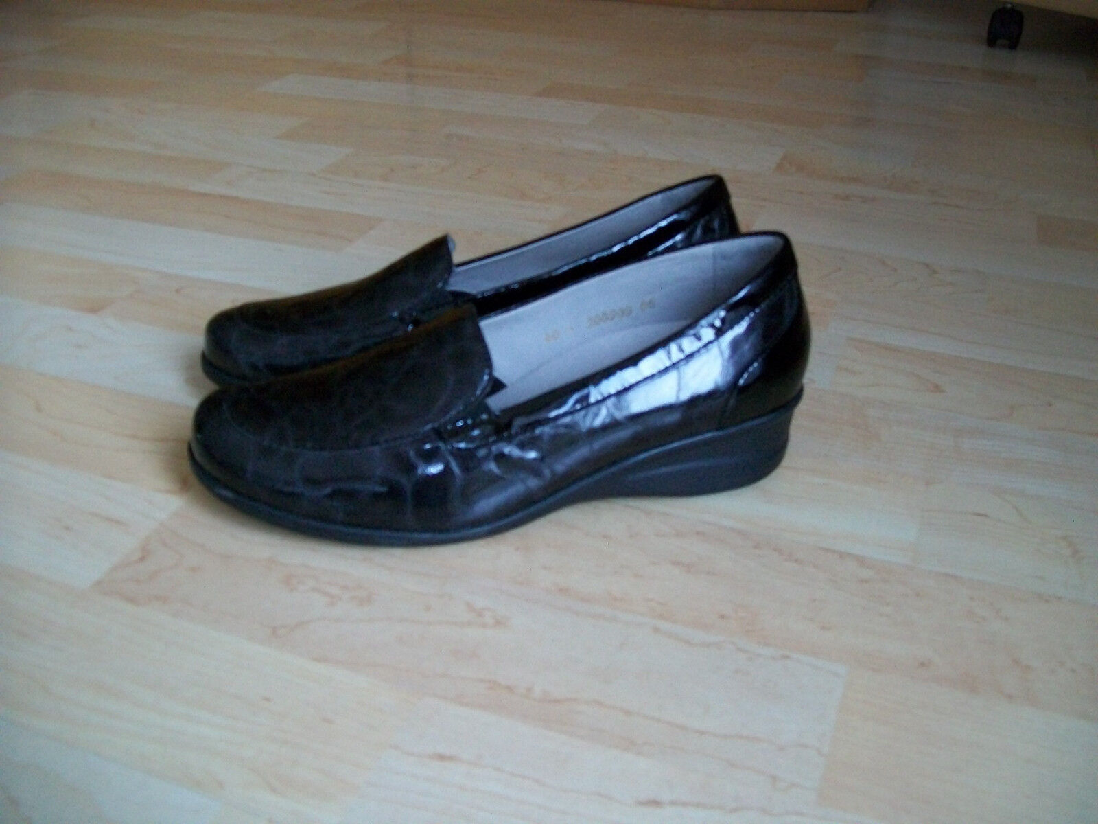 VITAFORM Damenschuhe Schuhe Halbschuhe Slipper Gr. 40, Leder, antrazit, NW