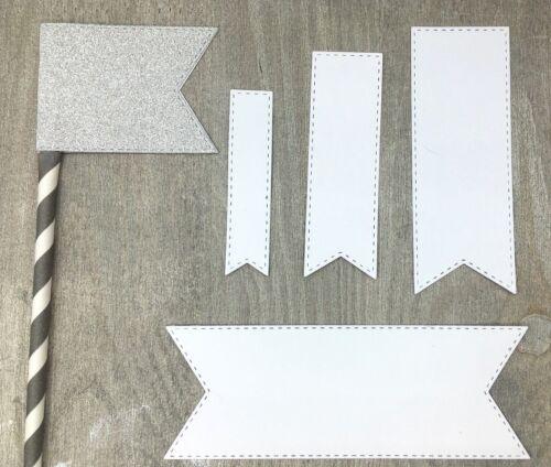Cutting dies Set banner label stitched mit Naht für Big Shot Stanzschablone